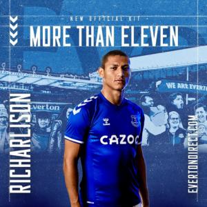 Maglie da calcio Everton 2020 2021 | completi calcio 2021